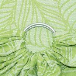 Fidella ring sling Dancing Leaves - spring haze