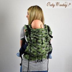 BabyMonkey ergonomické nosítko Regolo WildHorse Sage Reverse