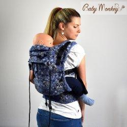 BabyMonkey ergonomické nosítko Regolo Calavera