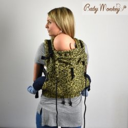 BabyMonkey ergonomické nosítko Regolo Plumage