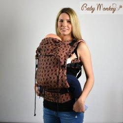 BabyMonkey ergonomické nosítko Regolo Papyrus