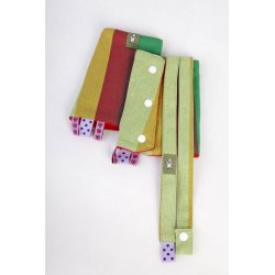 LennyLamb Drool Pads and Reach Straps Set Indian Summer