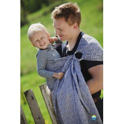 Little Frog Ring Sling Black Cube