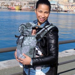 BabyMonkey ergonomic carrier Regolo Rainforest Rosemary - for rent