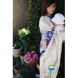 Little Frog Ring Sling Bamboo Flint