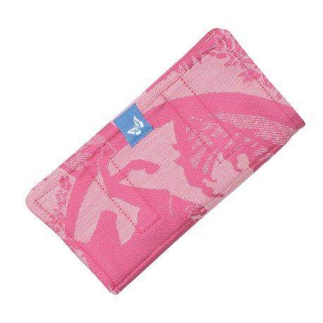 Fidella Drool Pads - Unicorn Tale - pink rose