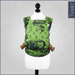 Fidella Fusion babycarrier with buckles -Rock n Rolla green splash - for rent