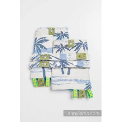 LennyLamb Drool Pads and Reach Straps Set Paradise Island