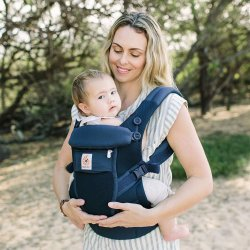 Ergobaby Nosítko Adapt Cool Air Mesh - Deep Blue