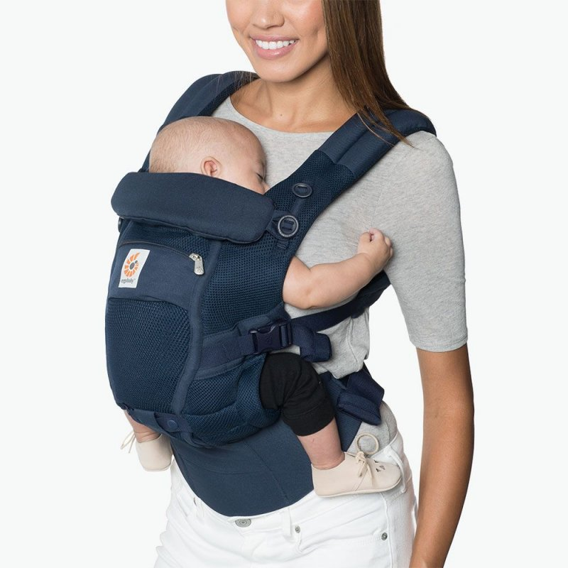 Ergobaby Adapt Cool Air Mesh Deep Blue 225 Tkom 225 Nie Cz