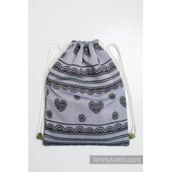 LennyLamb Bag SackPack Glamorous Lace Reverse