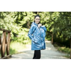 Angel Wings Blue dotted raincoat