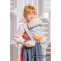 LennyLamb dětský šátek pro panenky Vanilla Lace 2.0