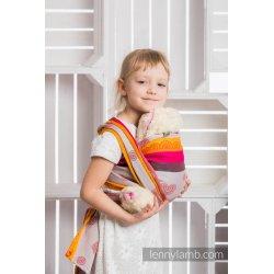 LennyLamb dětský šátek pro panenky Cherry Lace 2.0