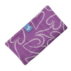 Fidella Drool Pads - Amors Love Arrows - grape