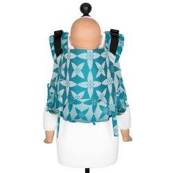 Fidella Onbuhimo V2 zádové nosítko - Blossom - ocean blue