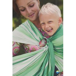 Little Frog Ring Sling Bamboo Tsavorite