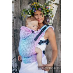 LennyLamb ergonomic carrier Big Love - Wildflowers