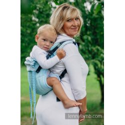 LennyLamb Onbuhimo back carrier - Big Love - Ice Mint