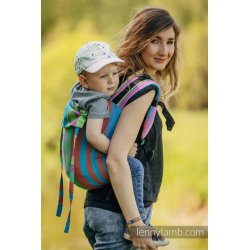 LennyLamb Onbuhimo back carrier - Zumba Blue