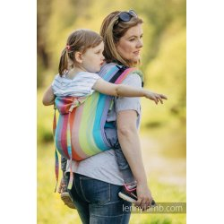 LennyLamb Onbuhimo back carrier - Coral Reef