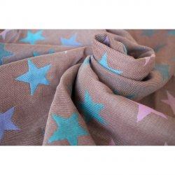 Yaro Stars Ultra Purple Aqua Coffee Tencel