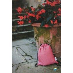Little Frog bag Raspberry Herringbone