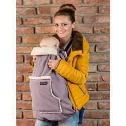 Isara babywearing cover Frosted Almond Taupe