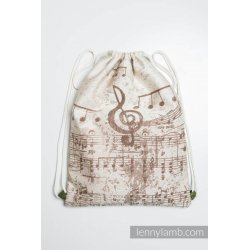 LennyLamb SackPack Symphony Creme & Brown