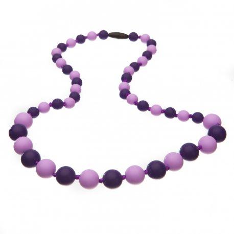 Silicone beads Mama Chic - Lilla violet