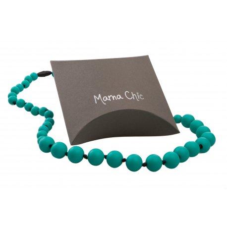 Silicone beads Mama Chic - Aqua