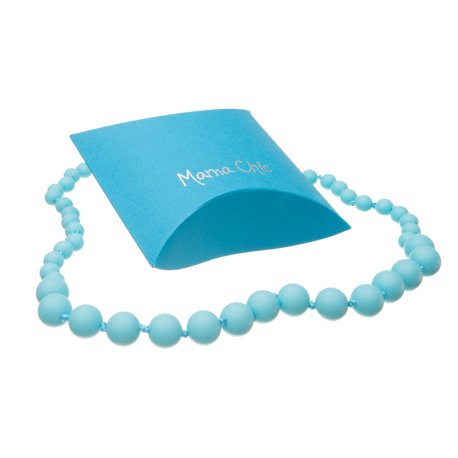 Silicone beads Mama Chic - Turquoise
