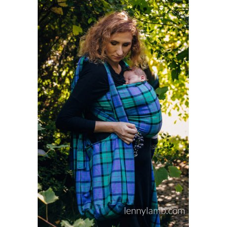 LennyLamb Hobo taška Countryside Plaid
