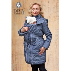 Diva Milano jarní/podzimní kabát 4v1 Notte