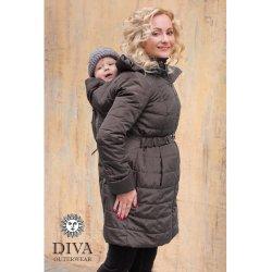 Diva Milano zimní kabát 4v1 Grafite