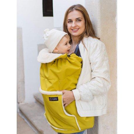 Isara babywearing cover Yellow Mellow