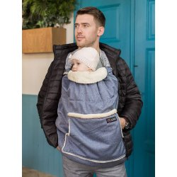 Isara babywearing cover Timeless blue melange