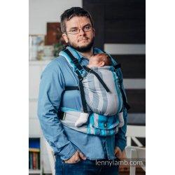 LennyLamb LennyUp rostoucí ergonomické nosítko Misty Morning