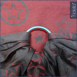 Fidella ring sling Outer Space Scarlet
