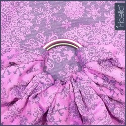 Fidella ring sling Iced Butterfly Violet