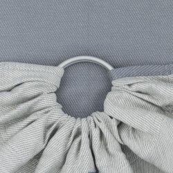 Fidella ring sling Lines - grey stone