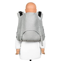 Fidella Onbuhimo V2 back carrier - Lines - grey stone
