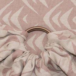 Fidella ring sling Zen - moccacino - wool