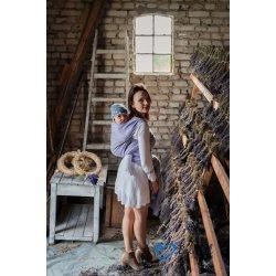 Beloved Slings Linen & Silk Flourish