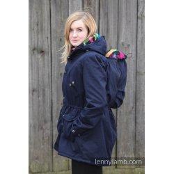 LennyLamb Nosící kabát - Parka - NAVY BLUE & DIAMOND PLAID