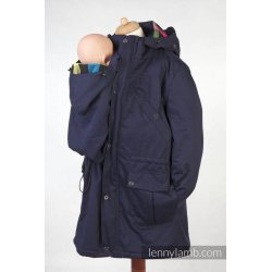 LennyLamb Parka Babywearing Coat NAVY BLUE & CUSTOMIZED FINISHING