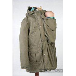 LennyLamb Nosící kabát - Parka - KHAKI & DIAMOND PLAID