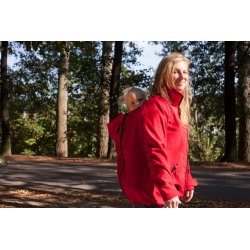 Leniice Softshell Jacket red