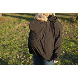Leniice Softshell Jacket black