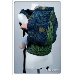 Natibaby babycarrier NatiGo Carrier Starry Night Blue Shine